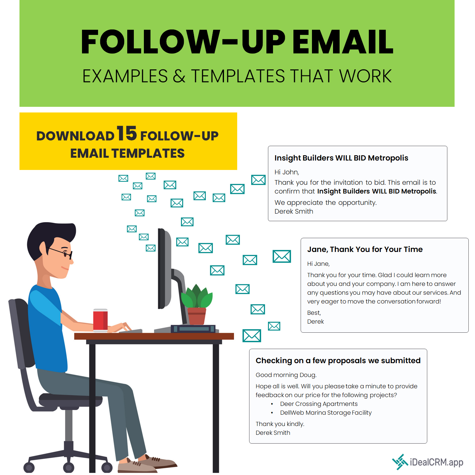 Follow Up Email Example Library Free Download